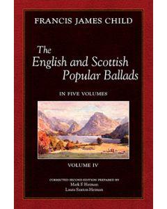 The English and Scottish Popular Ballads, Vol 4
